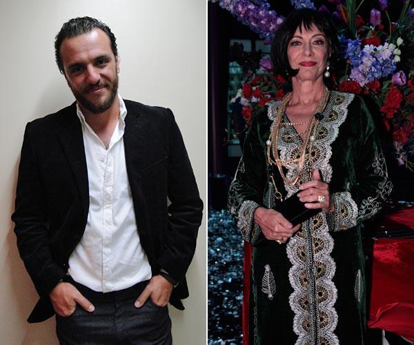 Rodrigo Lombardi e Marília Pêra gravam participação em Ti-ti-ti