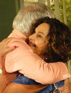 Cecília reencontra seu grande amor (Ti-ti-ti/ TV Globo)