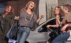 Jaqueline, Magda e Teresa retomam banda com Gigi como nova integrante (Ti-ti-ti/ TV Globo)