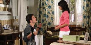 Pedro implora pelo perdão de Gabi e pede mais uma chance à ex-mulher (Insensato Coração/ TV Globo)
