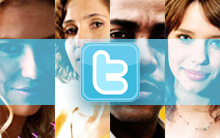 Natalie, Carol, André e Leila têm perfis no twitter (Insensato Coração/ TV Globo)
