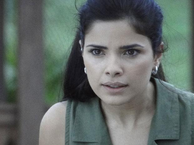 Celeste fica surpresa com a revelação de Tonica