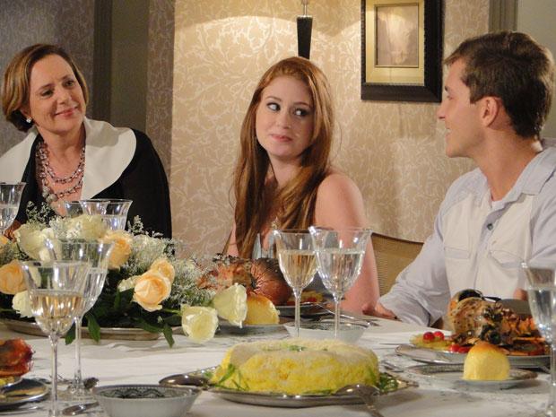 Guilherme engana direitinho a primeira-dama e deixa Alice encantada