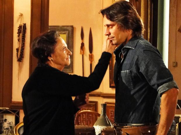 Mariquita agradece Solano antes que perca de evz a sua memória