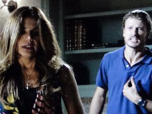 Fernando diz a Lavínia que ela foi o seu maior amor