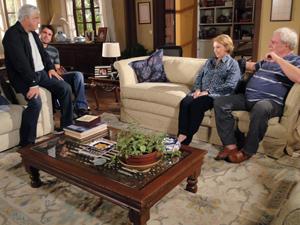 Raul encontra Pedro na casa de Floriano
