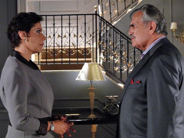 Gisela e Teodoro se despedem com promessas de reencontro
