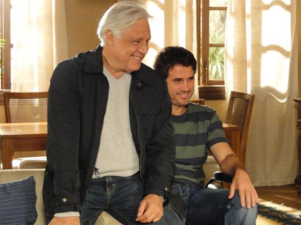 Raul visita Pedro em Porto Alegre antes de partir