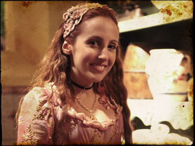 Luana Martau será Carlota, filha da Duquesa Úrsula