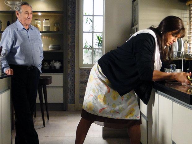 Eliseu não esconde o encantamento com Elaine