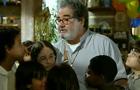 Padre Emílio adota órfãos (Araguaia/TV Globo)