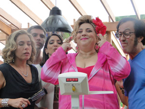 Pink balança