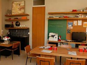 Sala de aula do Primeira Opção
