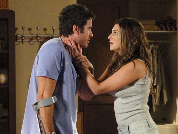 Irene pede para Pedro ficar em Porto Alegre