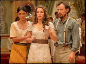 Virtuosa e Euzébio correm para tirar a filha de lá