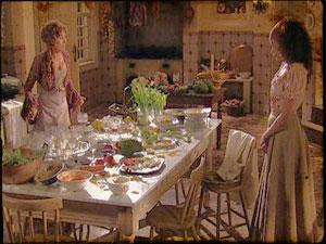 Os temperos colorem a cozinha de Dona Ternurinh