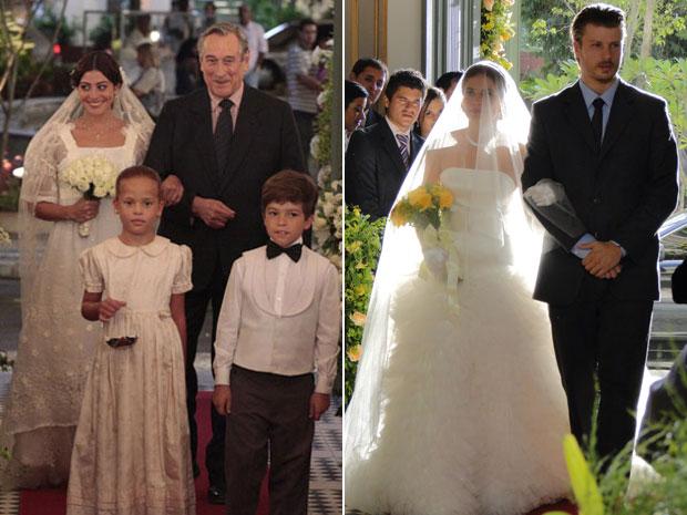 Natália e Lavínia já agitaram Preciosa em suas cerimônias de casamento