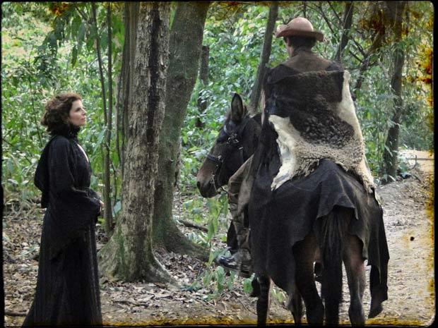 A duquesa vai embora satisfeita com as descobertas sobre Jesuíno e Açucena