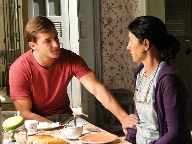 Guilherme promete melhorar a qualidade da comida em casa