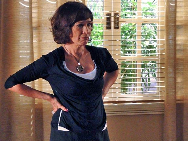Wanda fica indignada com a desconfiança do ex-marido