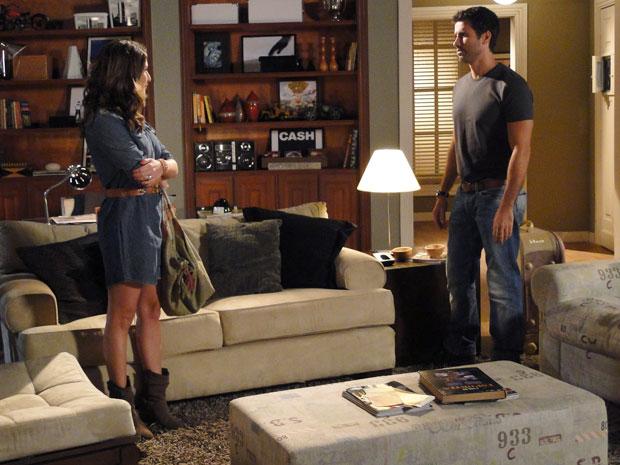 Irene surpreende Pedro