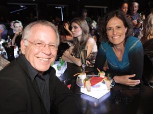 Nelson Motta e Zélia Duncan