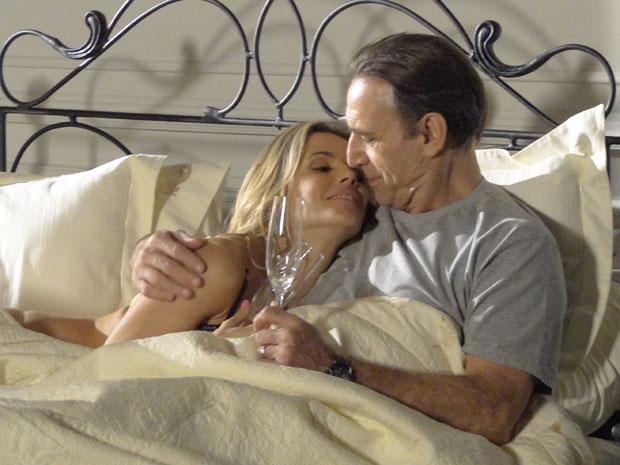 Natalie e Cortez matama a saudade