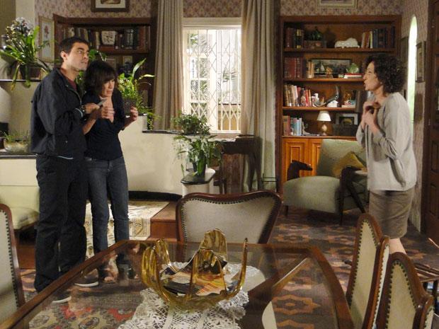 Neném joga Wnada na fogueira e pede para Henrique levar Wanda como refém