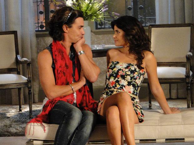 Áureo e Celeste recordam o tempo em que eram noivos