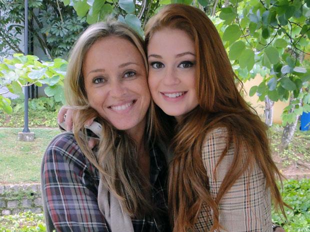 Marina Ruy Barbosa se declara para a mãe