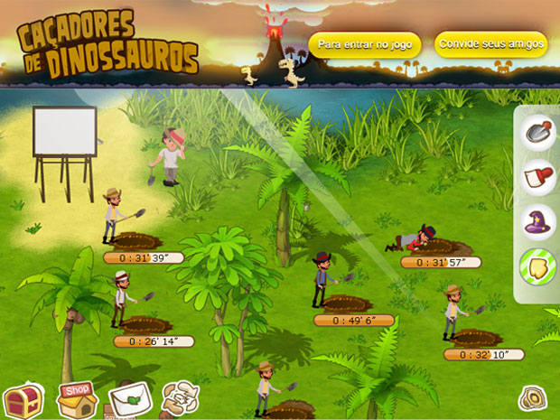 Caçadores de Dinossauros leva a experiência da paleontologia para dentro do seu computador
