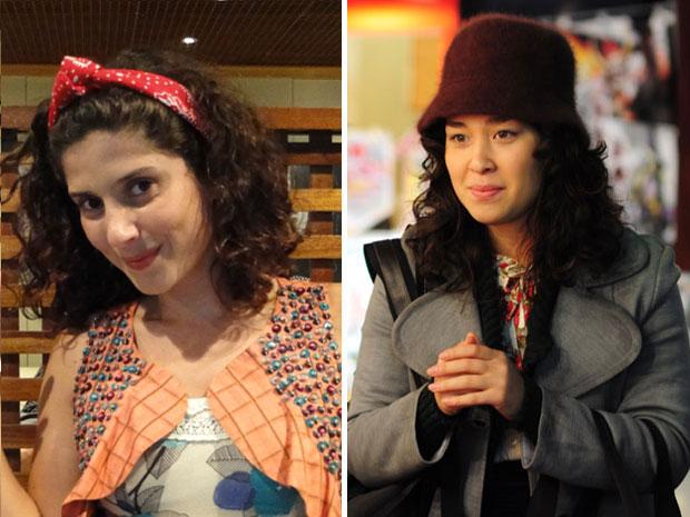 Gabriela Carneiro da Cunha e Luana Tanaka têm cuidados especiais com os cachos