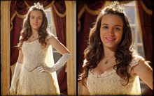 'Me senti uma princesa', diz Bianca Bin sobre o visual (cordelencantado/tvglobo)