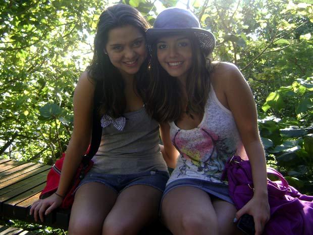 Polliana Aleixo e Giovanna Lancellotti