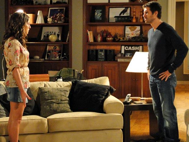 Pedro não consegue acreditar que seja o pai do filho de Irene