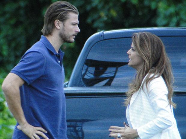 Fernando e Lavínia ainda não esqueceram a relação do passado