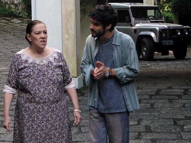 Leandro recorre a Palmira para tentar esclarecer pista sobre Naomi
