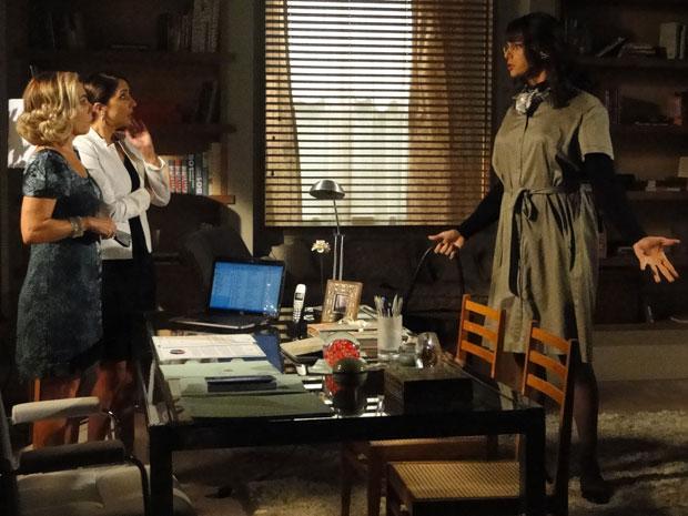 Élcio diz para Augusta que Eliseu está interessado por ele