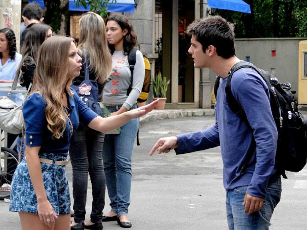 Catarina e Pedro voltam a discutir
