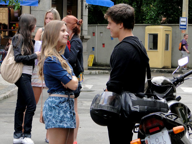 Catarina e Guilherme começaram a namorar