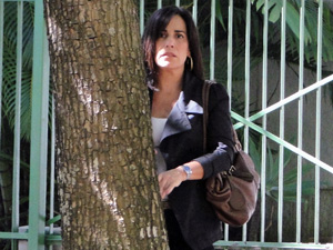 Norma assista à prisão de Márcio