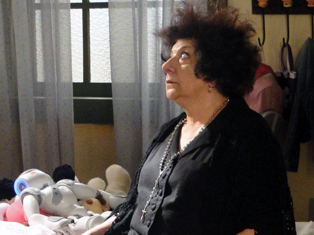 Salomé leva um choque de Zariguim