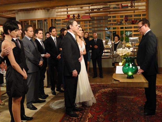 Natalie e Cortez se casam