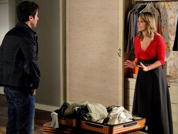 Marina diz a Pedro que aceita uma traição, mas não aceita mentira