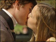 Inácio e Antônia ficam noivos (Cordel Encantado/ TV Globo)