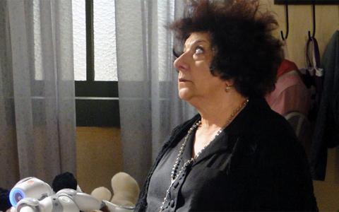 Salomé tenta sequestrar Zariguim e leva choque (Morde & Assopra/ TV Globo)