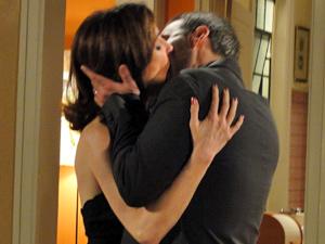 O beijo do casal