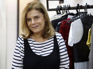 A figurinista Helena Gastal (Foto: Insensato Coração/ TV Globo)