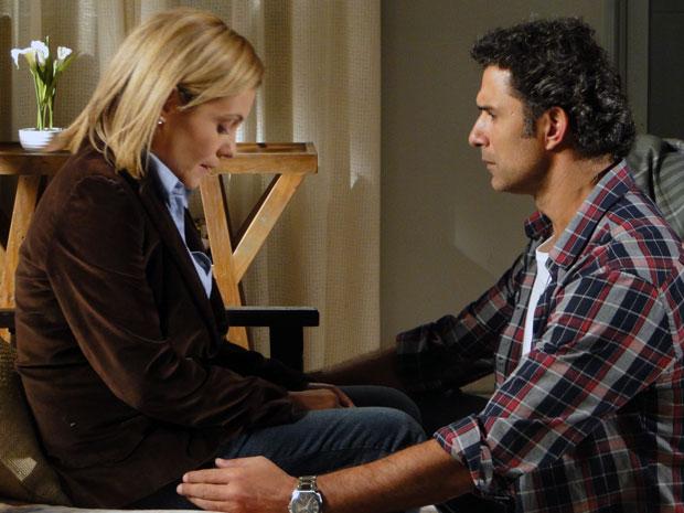 Júlia diz que ficou muito magoada e decepcionada com Abner (Foto: Morde & Assopra / TV Globo)