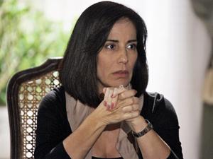 Milionária: Norma (Gloria Pires) fica com metade do patrimônio de Teodoro (Tarcísio Meira) (Foto: Insensato Coração/ TV Globo)